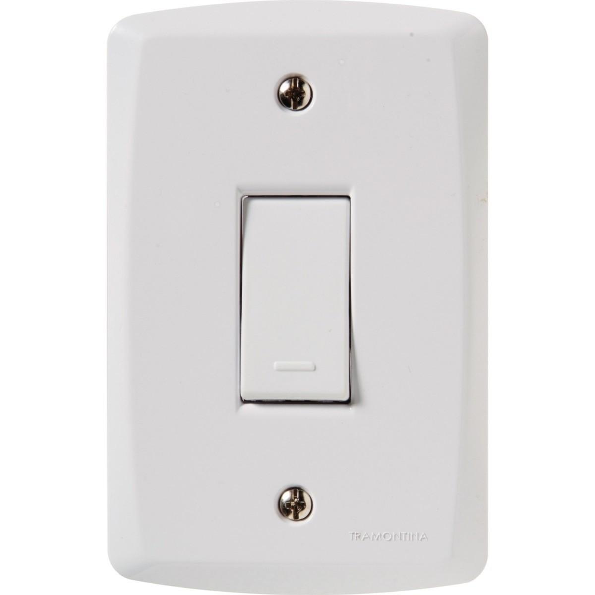 Elétrica Conjunto Interruptores Simples 10A/250V Tramontina