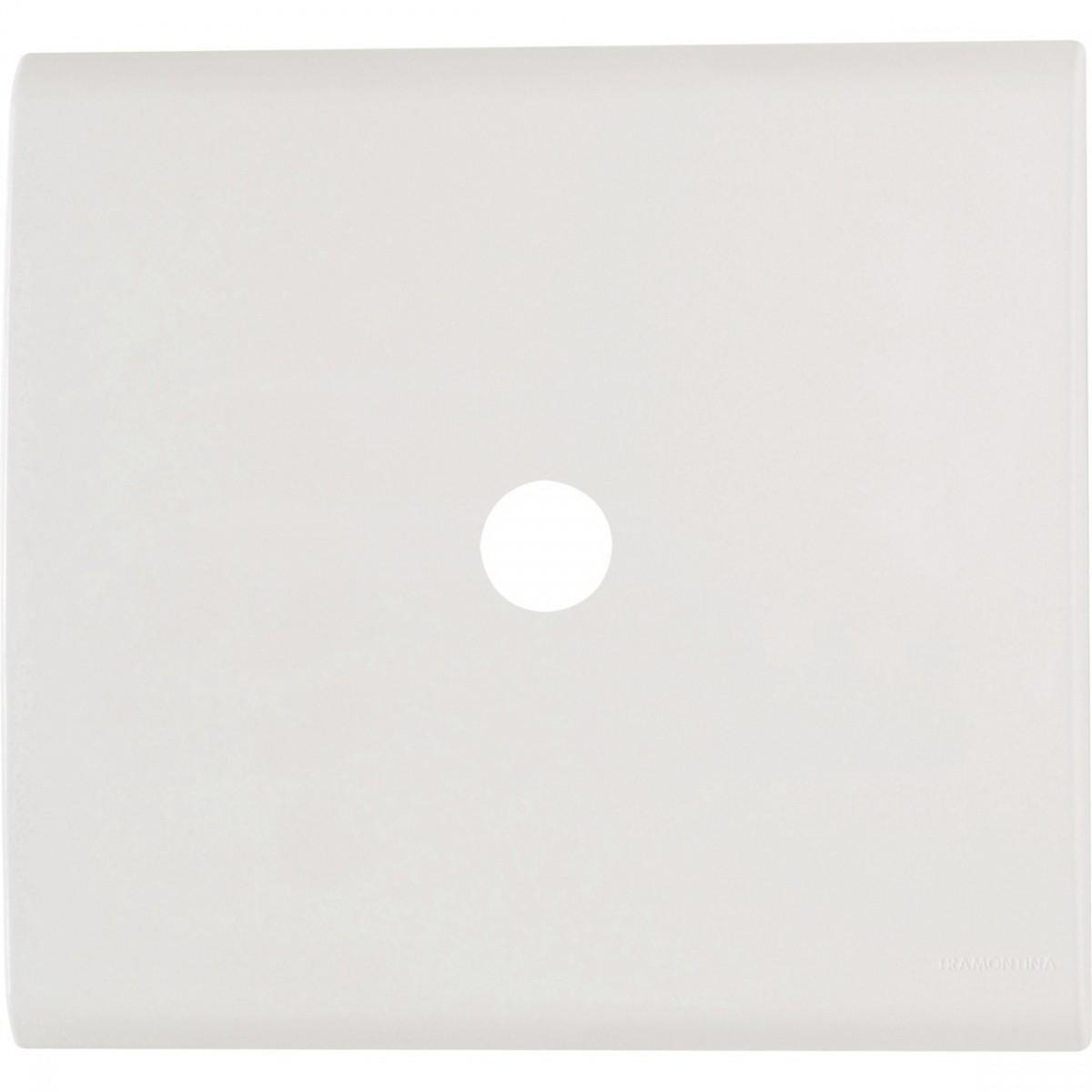 Elétrica Placa 4x4 Com Furo 9,5mm Tramontina Branca