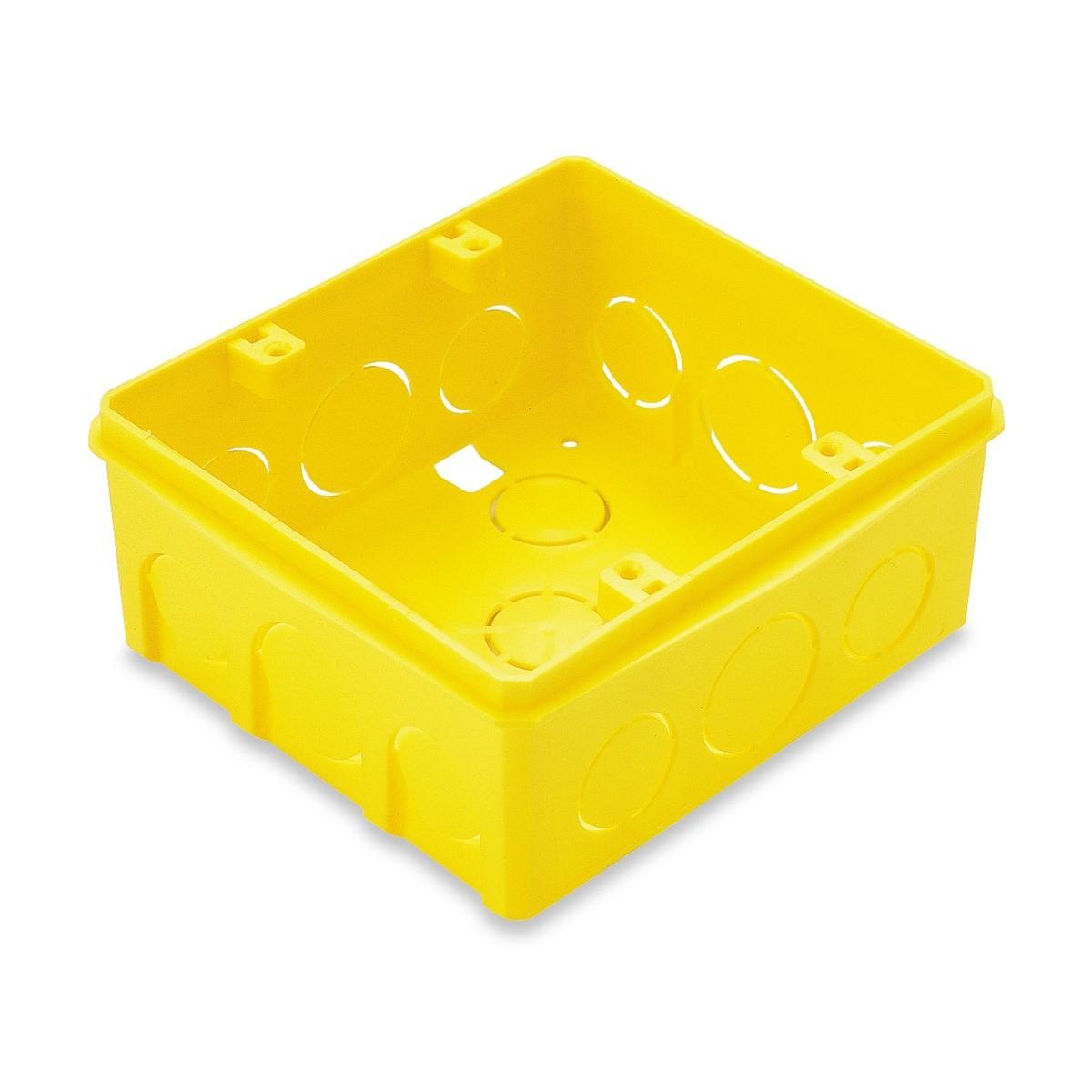 Ilum Caixa Embutir 4x4 Quadrada Tramontina