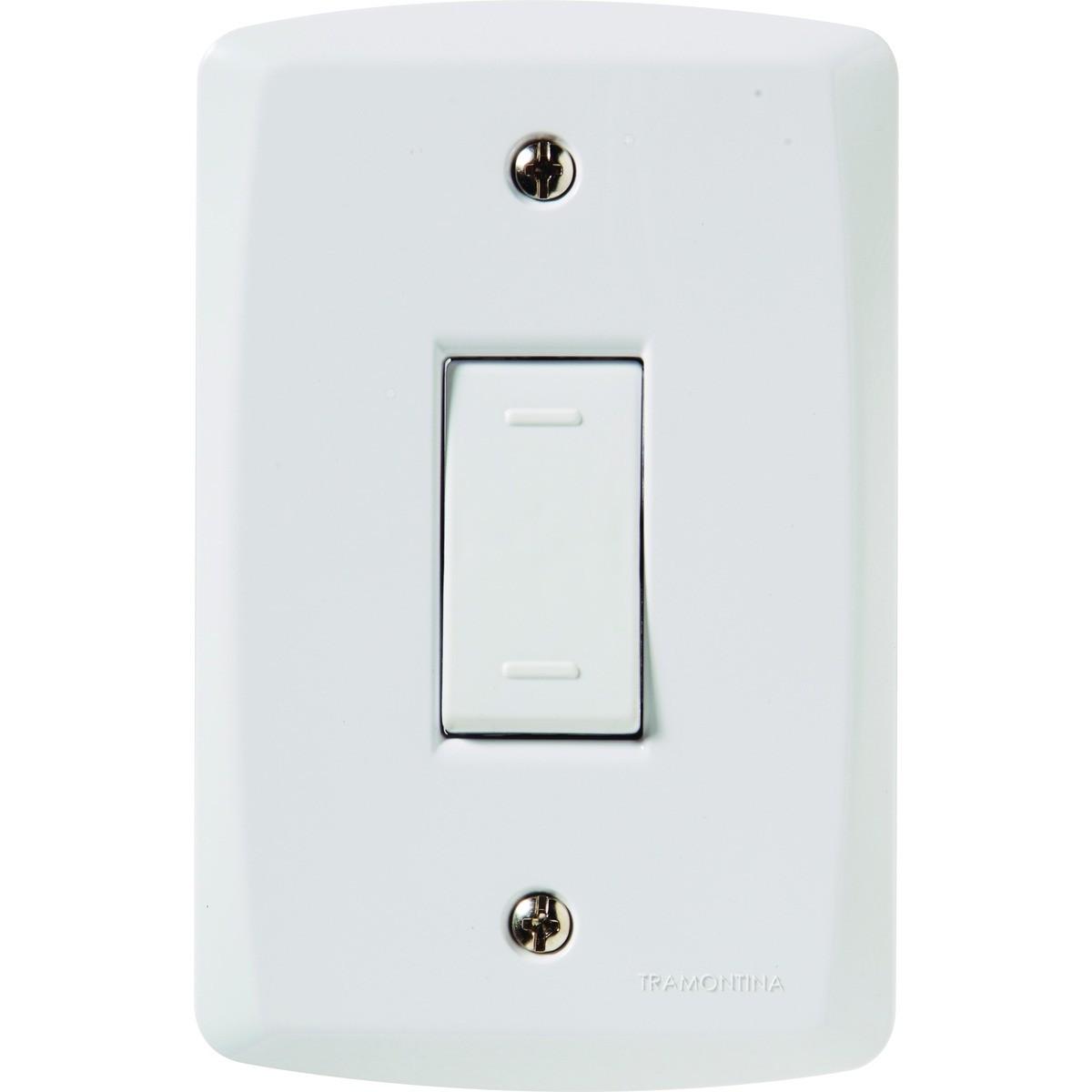 Ilum Conjunto 1 Interruptor Paralelo 10A 250V  Tramontina