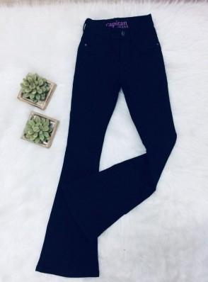 Calça Jeans Flare Marinho - Capitan