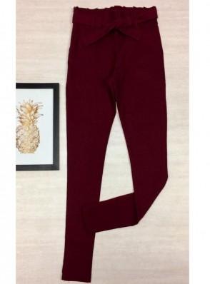 Calça Skinny Elastano Clochard - Aline Marsala