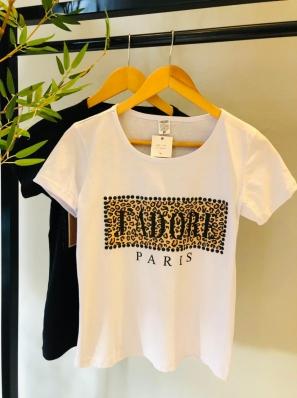 Camiseta Manga Curta Algodão - Sabrina
