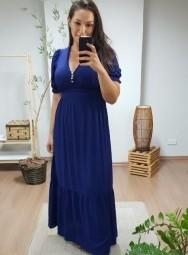 Vestido Longo Viscolinho - Ana