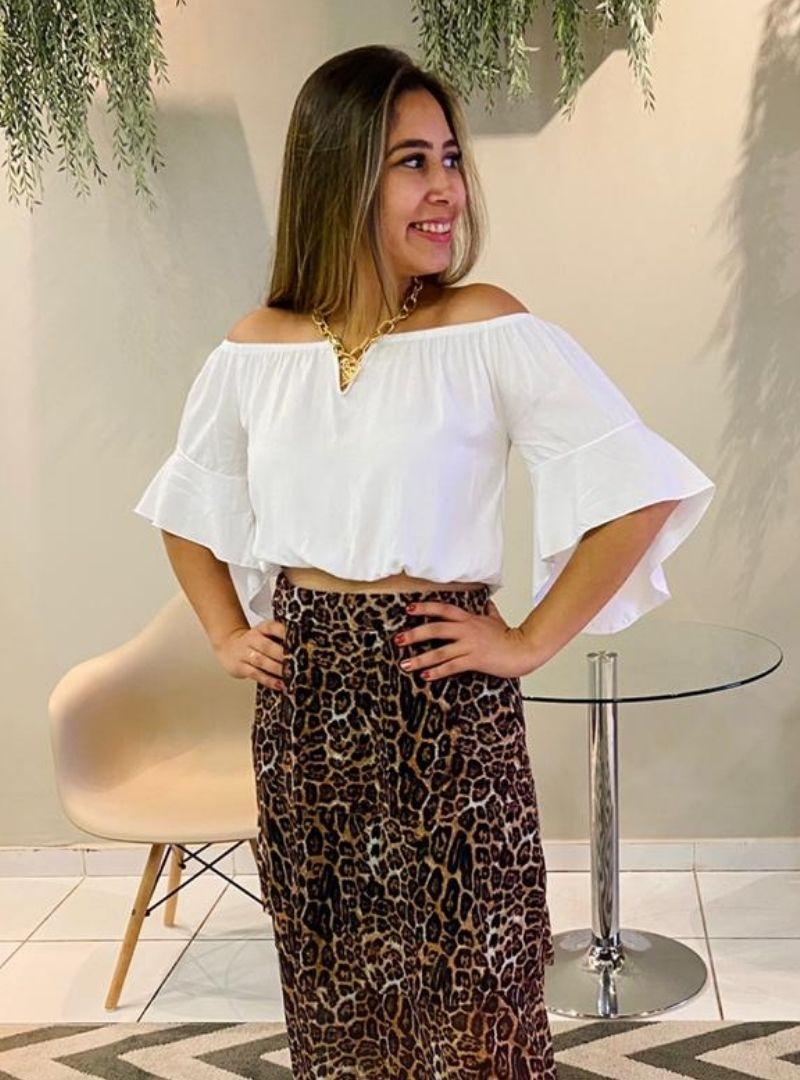 Blusa Ciganinha Viscose - Tamires