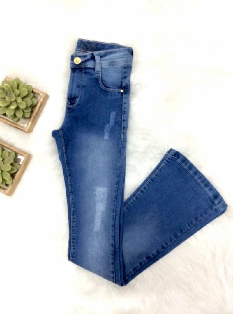 Calça Jeans Flare - Capitan