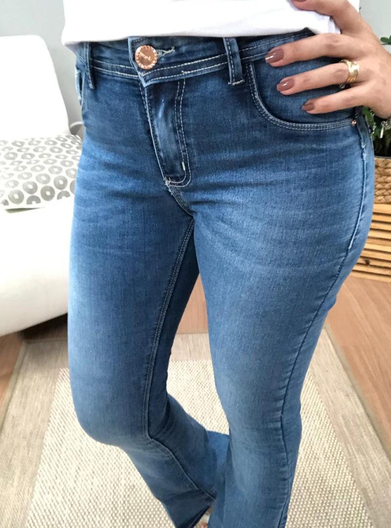 Calça Jeans Flare Capitan - Mirela