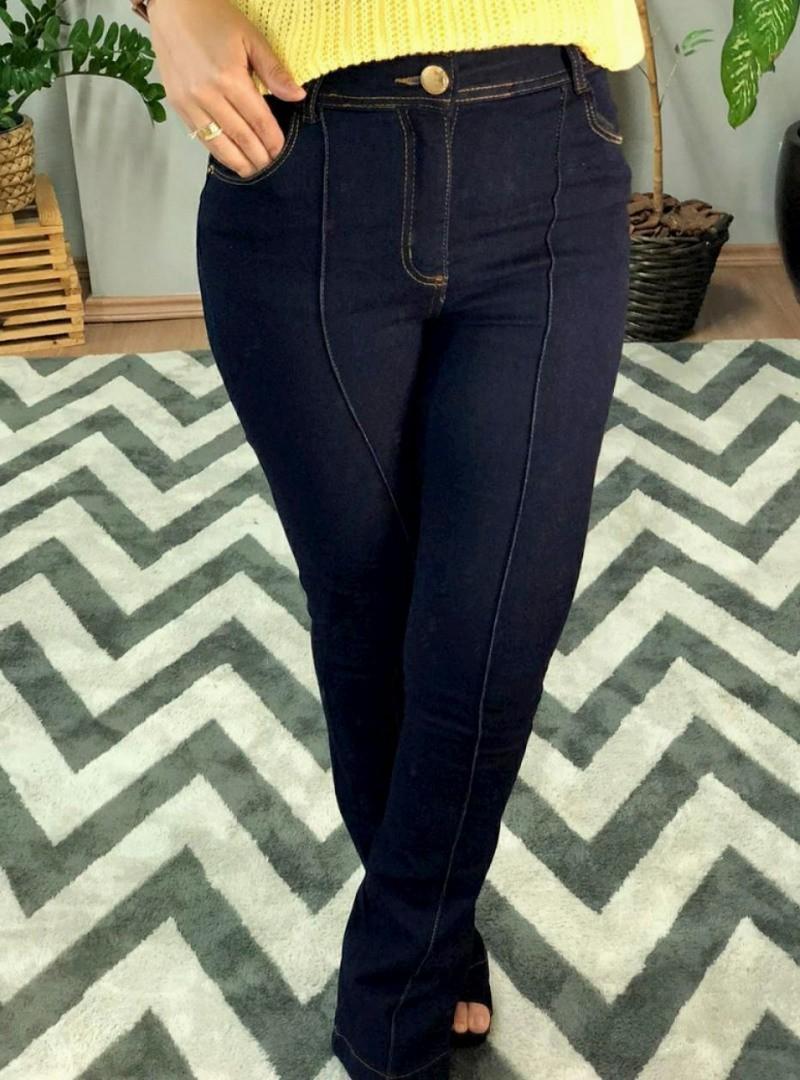 Calça Jeans Flare - Sara