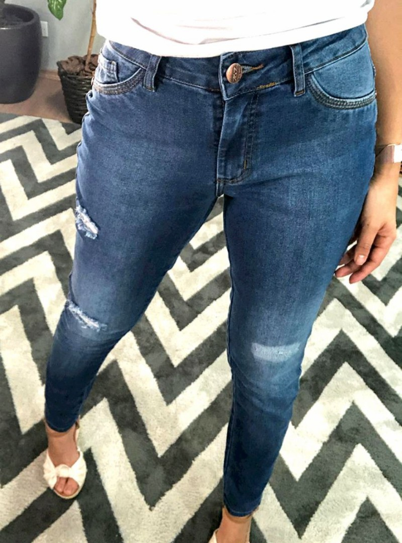 Calça Jeans Skinny - Catarina