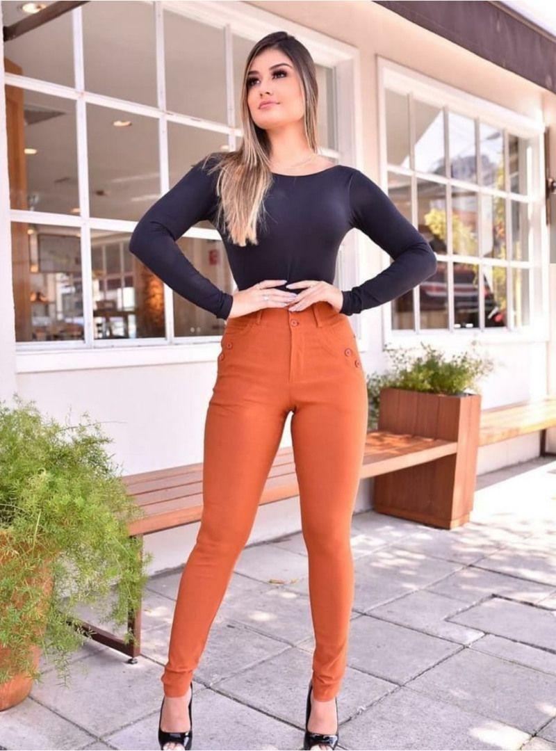 Calça Skinny Bengaline - Paola