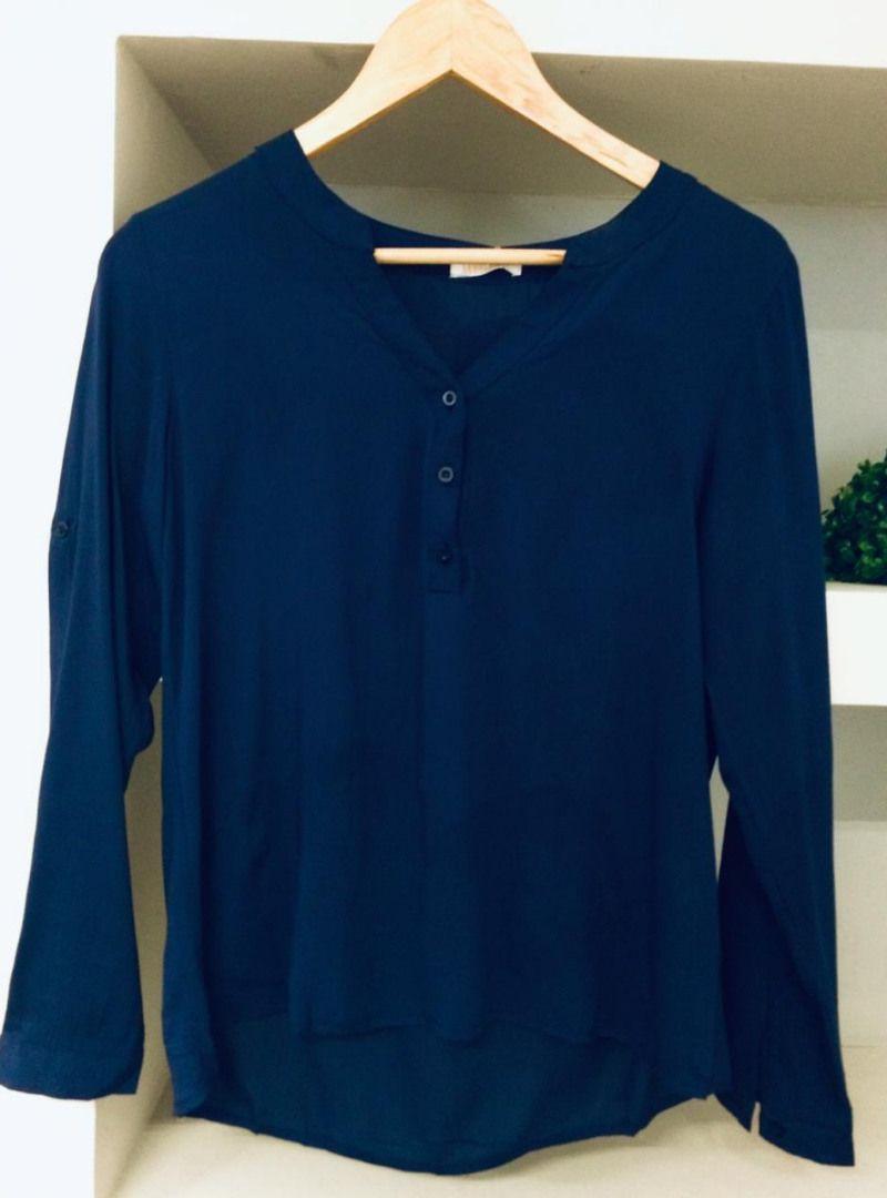 Camisa Manga Longa Viscose - Lorena