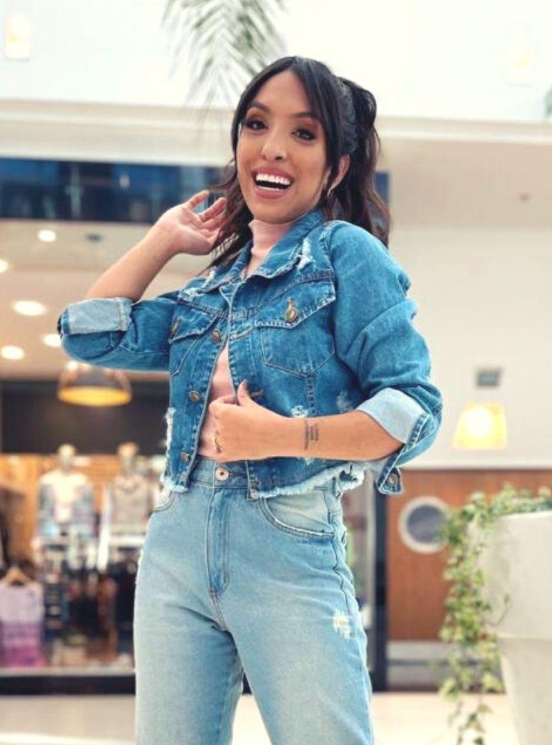 Jaqueta Jeans Cropped - Bianca