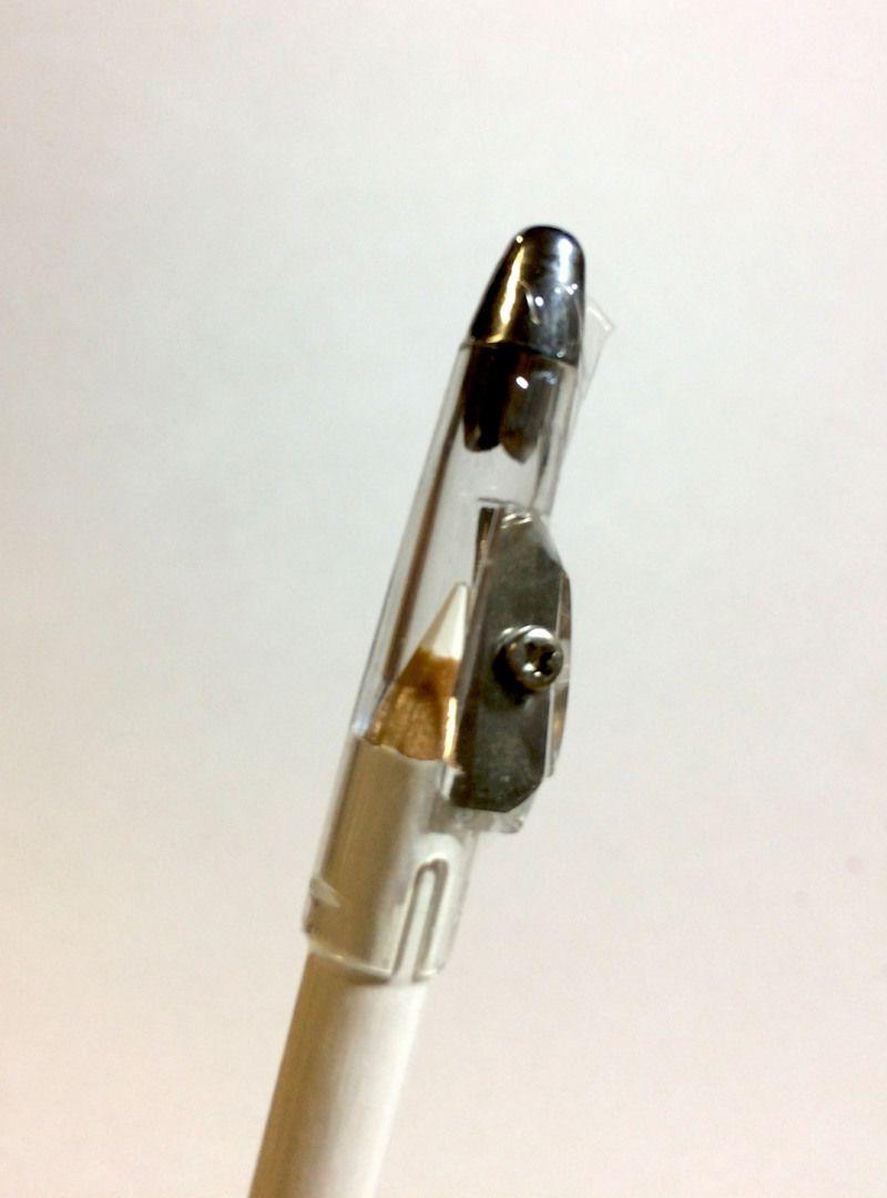 Lápis de Olhos Branco com Apontador - DaPop