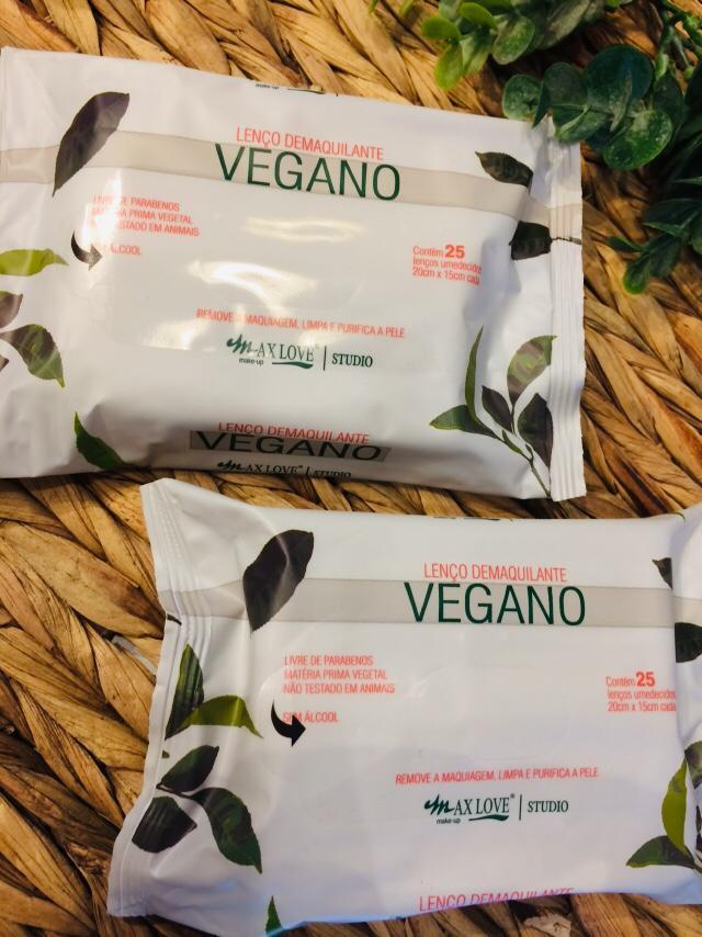 Lenço Demaquilante Vegano - Max Love