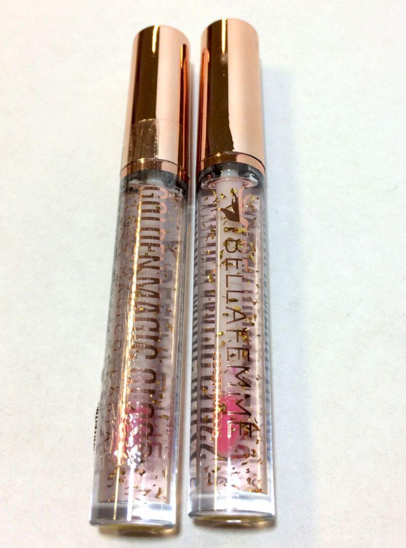 Lip Gloss Mágico Labial - Golden Magic Gloss Bella Femme