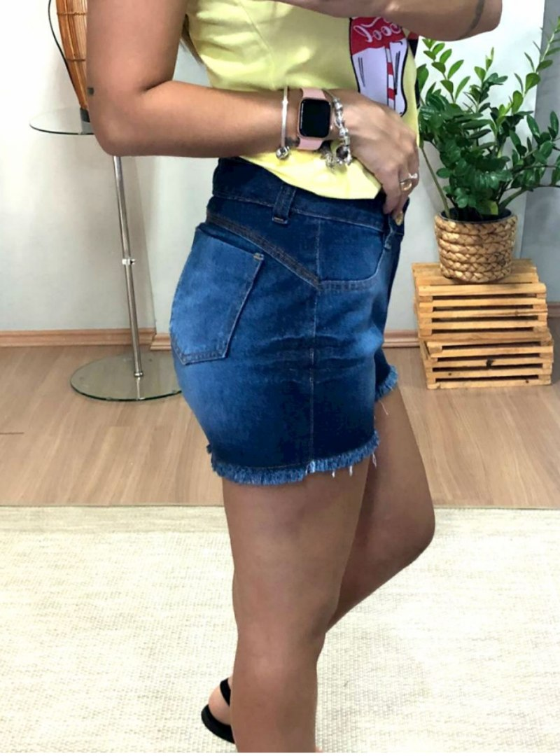 Shorts Curto Jeans Capitan - Maiza