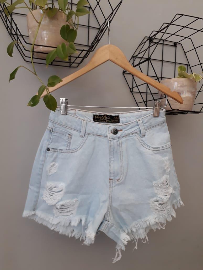 Shorts Curto Jeans Capitan - Naty