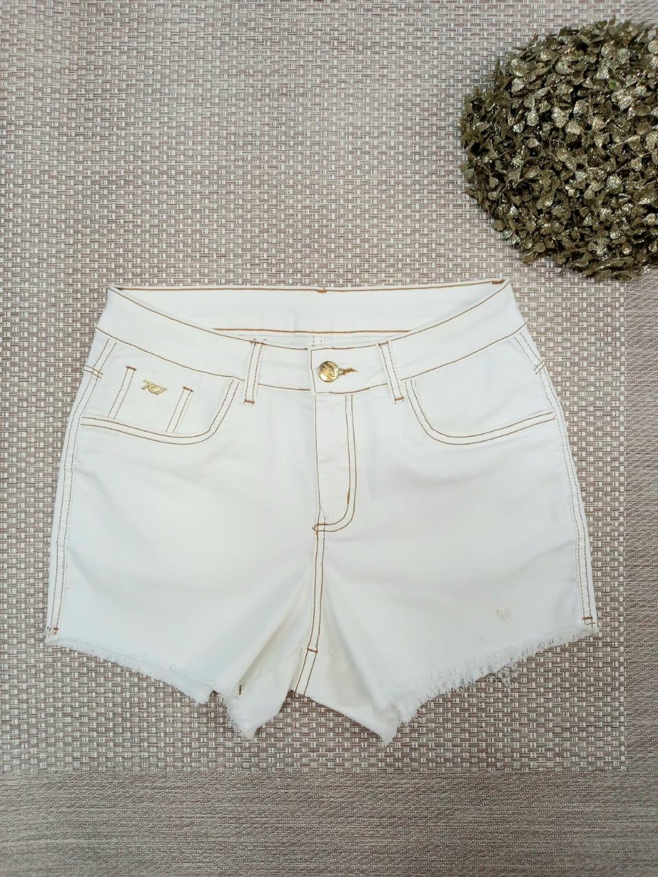 Shorts Curto Jeans Claro - Clara