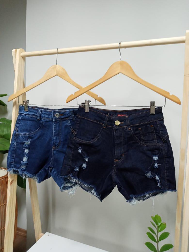 Shorts Curto Jeans - Graça