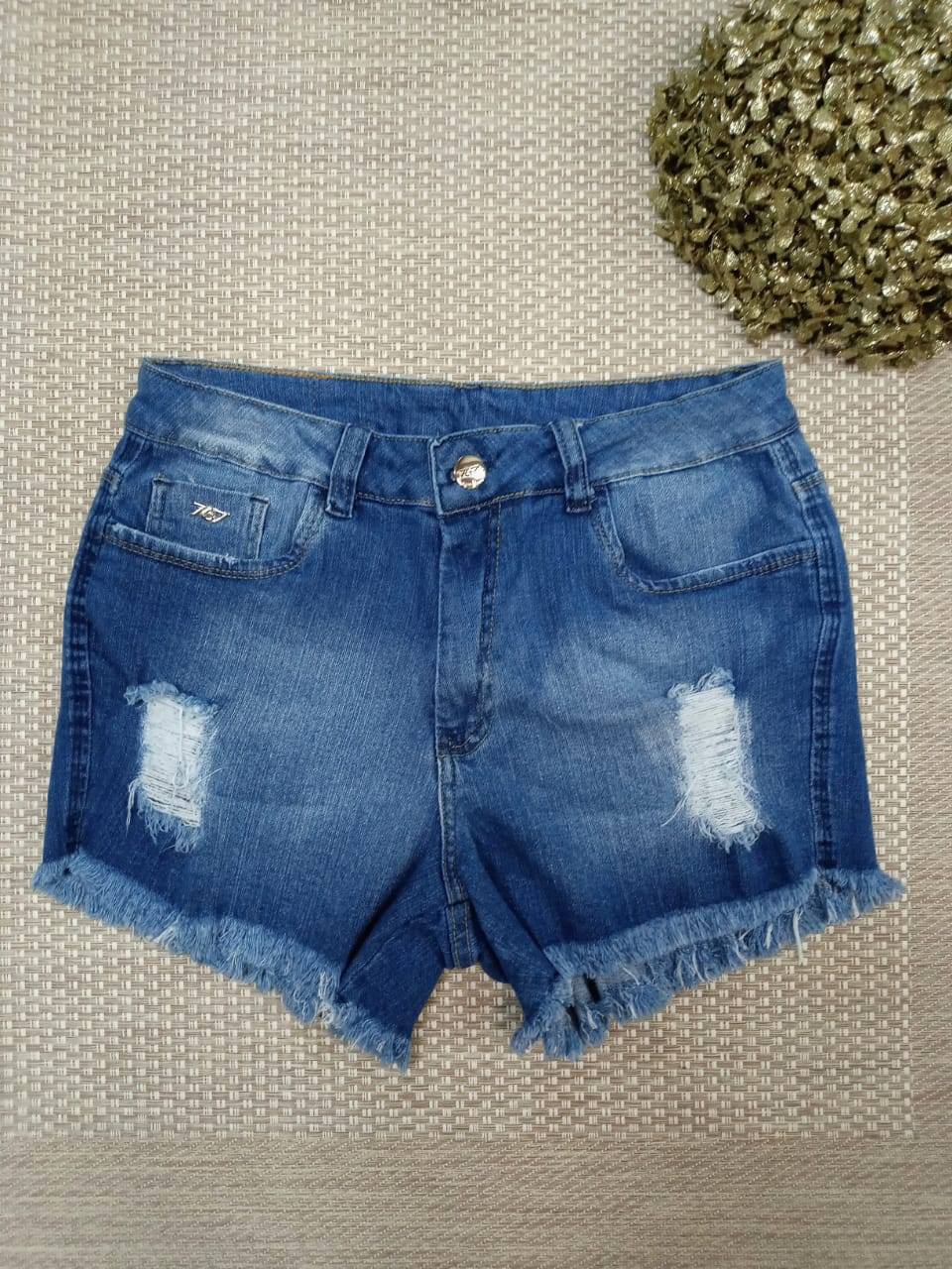 Shorts Jeans curto - Aline