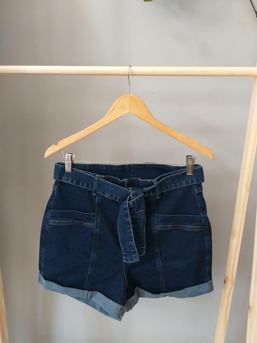 Shorts Jeans Curto Clochard - Tania