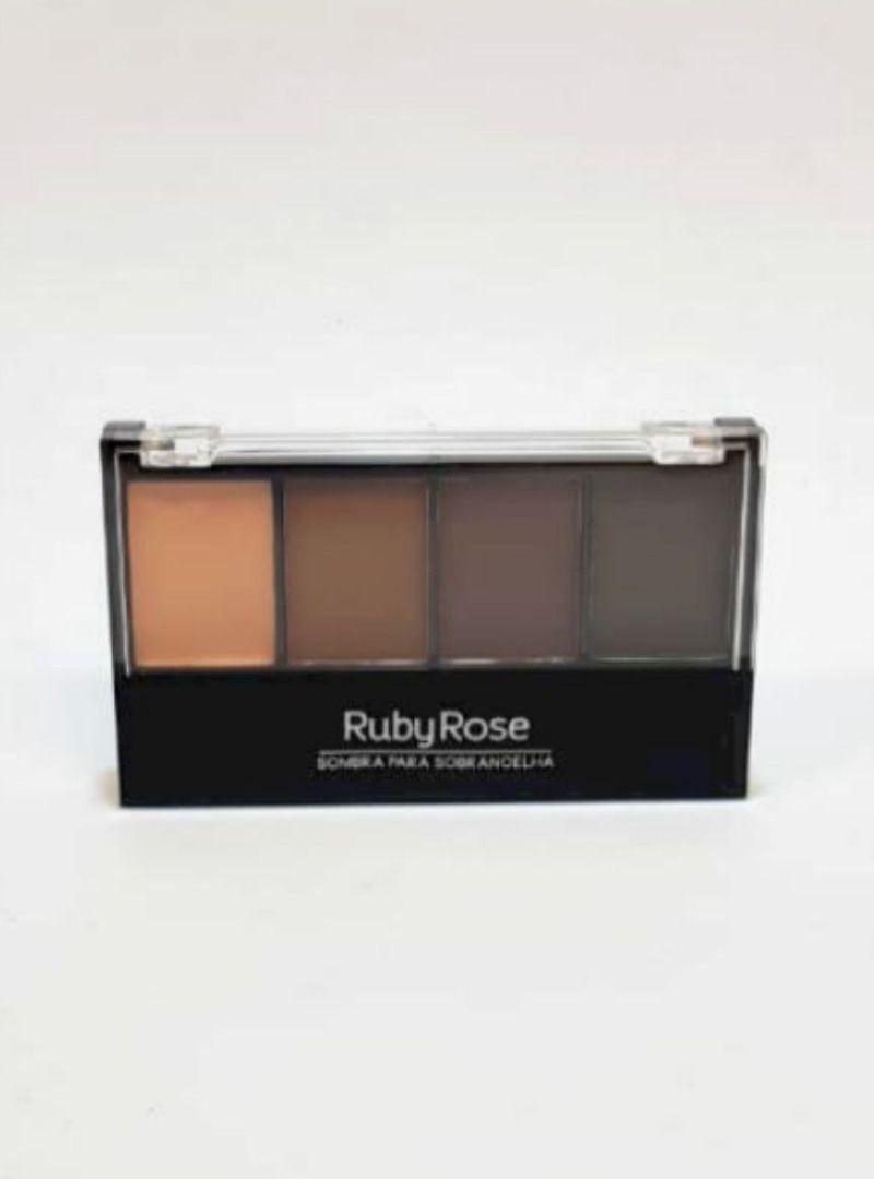 Paleta de Sombra para Sobrancelha - Ruby Rose