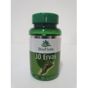 30 Ervas 500 mg 60 Capsulas Bioflora