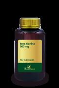 Beta Alanina 500 mg 100 Cápsulas