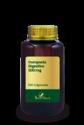 Composto Digestivo 500 mg 100 Cápsulas