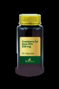 Cranberry Ext Seco 25% 500 mg 30 Cápsulas