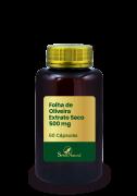 Folha de Oliveira Extrato Seco 500 mg 60 Cápsulas