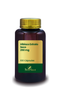 Hibisco Extrato Seco 250 mg 100 Cápsulas