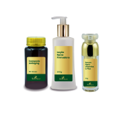 Kit Antiaging In Out para Rosto e Corpo
