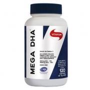Mega DHA 1 g 120 Capsulas Vitafor