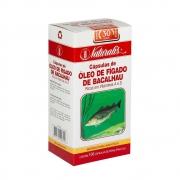 Óleo de Fígado de Bacalhau 250 mg 100 Cápsulas Naturalis