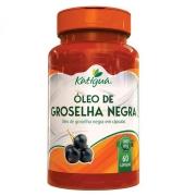 Óleo de Groselha Negra 1000 mg 60 Cápsulas Katiguá