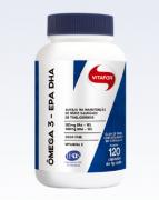 Ômega 3 EPA DHA 120 Cápsulas Vitafor