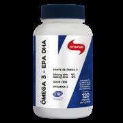 Ômega 3 EPA + DHA 1 g 60 Cápsulas Vitafor