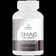 Pool de Magnésio 3 MAG 60 Cápsulas Central Nutrition