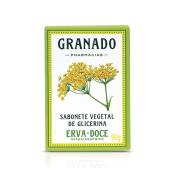 Sabonete Vegetal de Glicerina Erva Doce Granado 90g