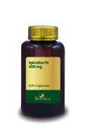 Spirulina Pó 400 mg 200 Cápsulas