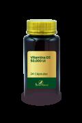 Vitamina D3 50.000 UI 24 Cápsulas