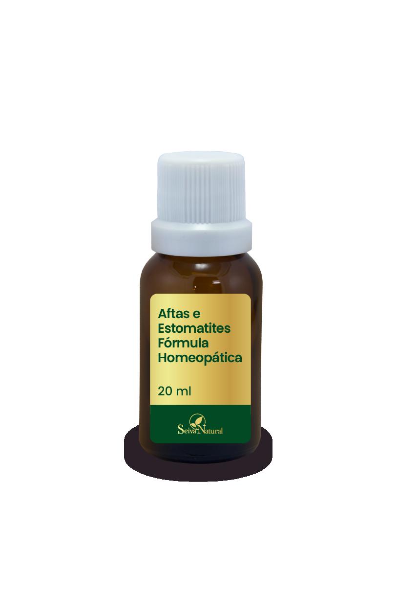 Aftas e Estomatites Fórmula Homeopática 20 ml