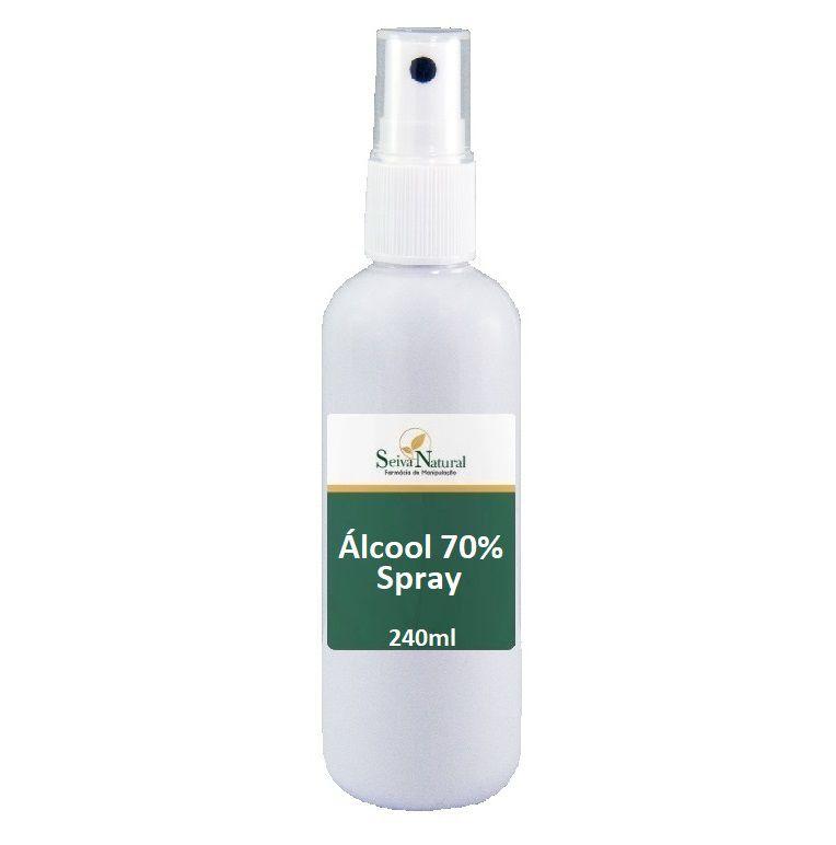 Álcool 70% Spray 240 ml