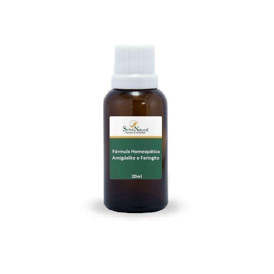 Amigdalite e Faringite Fórmula Homeopática 20 ml