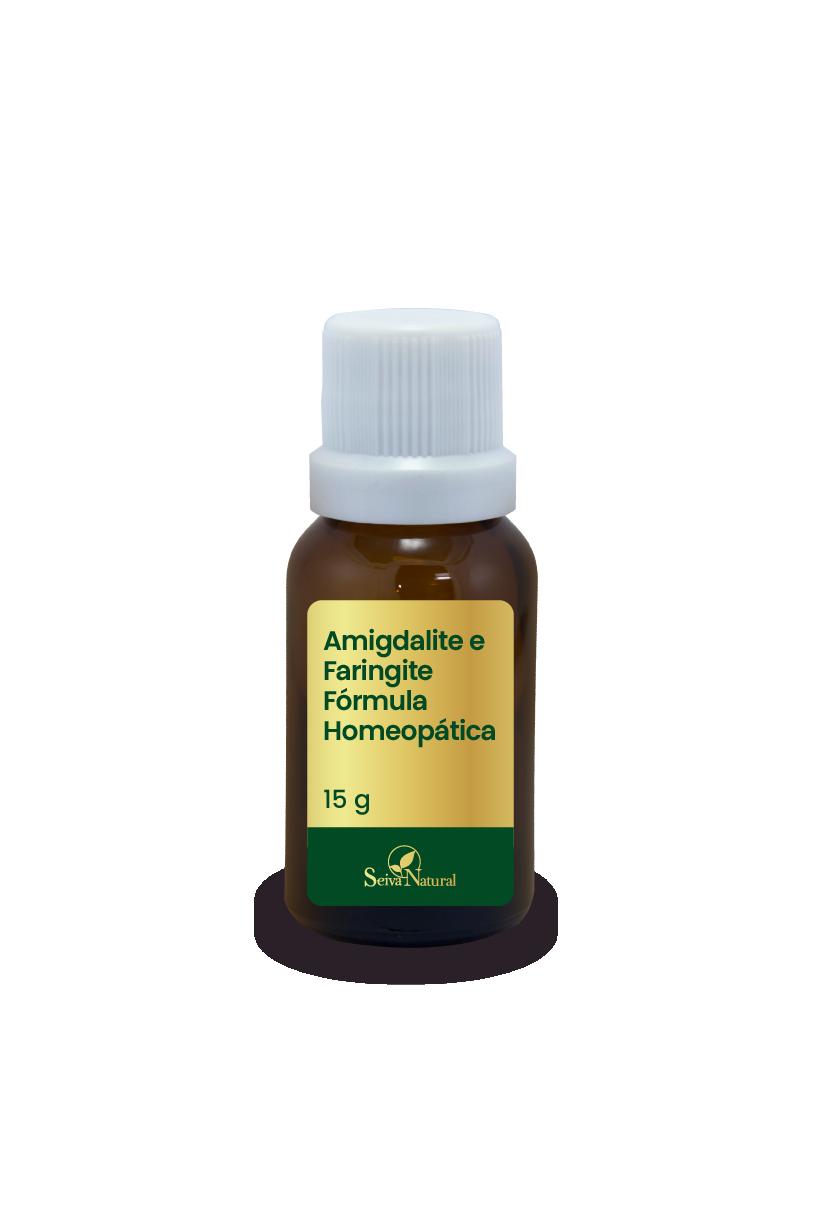 Amigdalite e Faringite Fórmula Homeopática 15 g