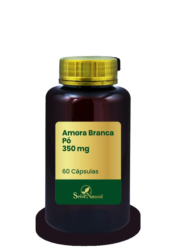 Amora Branca Pó 350 mg 60 Cápsulas