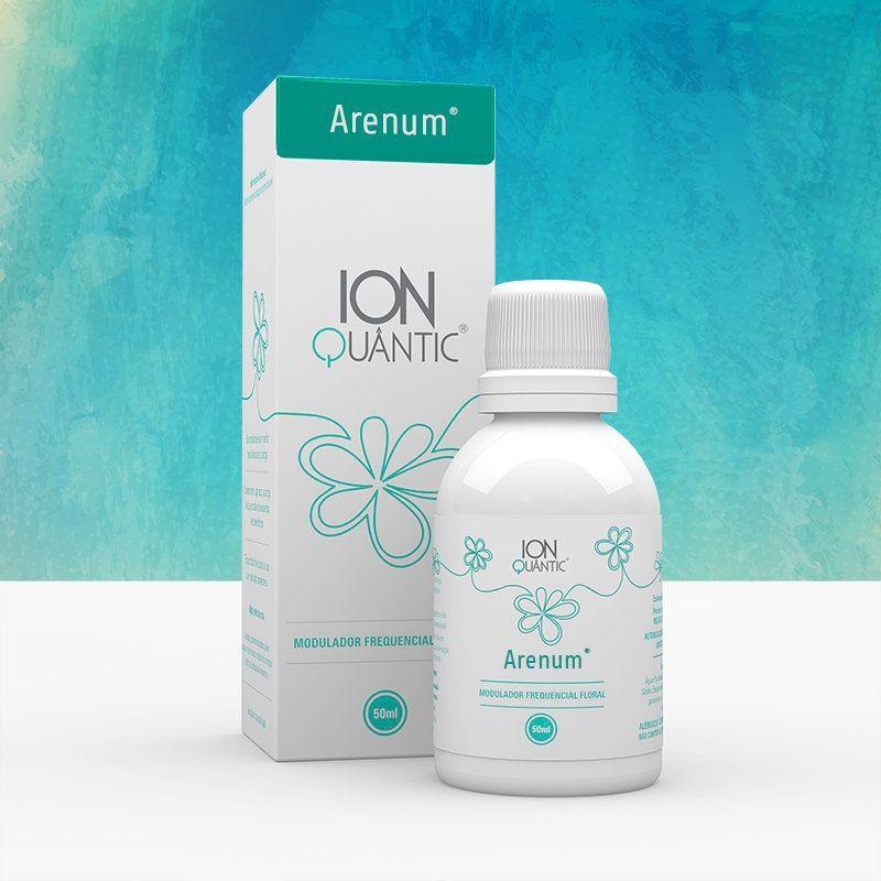 Arenum 50ml Ionquantic Floral Frequencial Fisioquantic