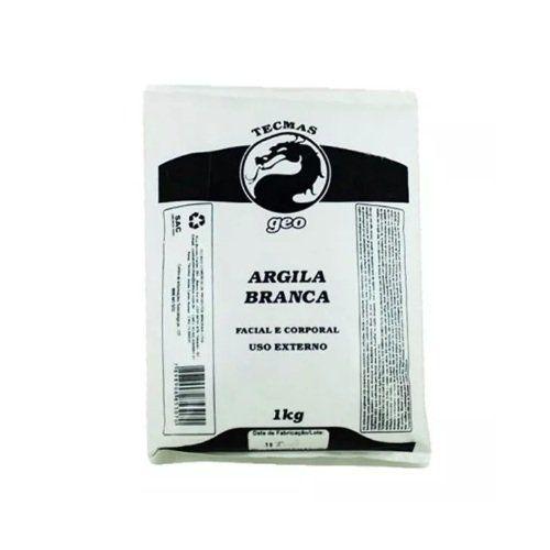 Argila Branca Facial e Corporal Tecmas Geo 1 kg