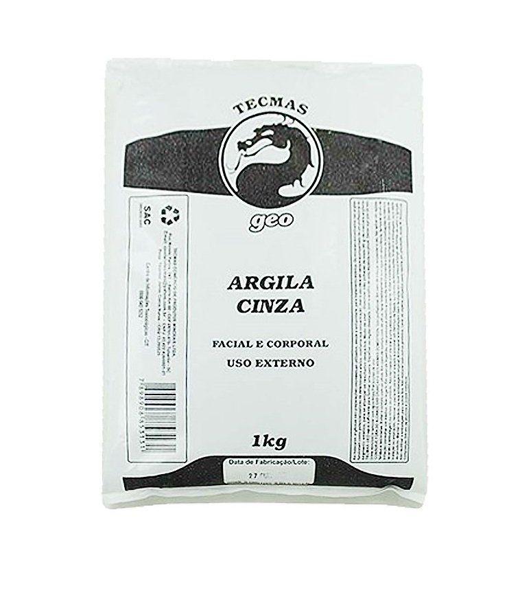 Argila Cinza Facial e Corporal Tecmas Geo 1kg